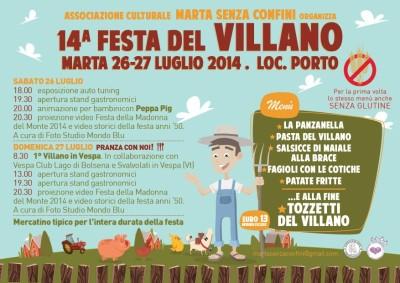 Festa del villano 2014 a Marta (Viterbo)