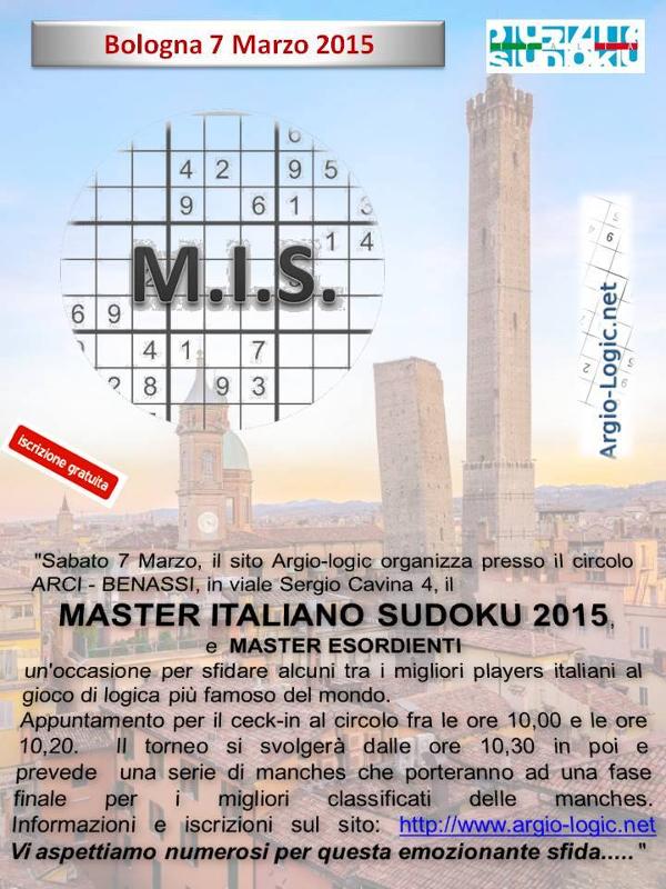 Master Italiano di Sudoku